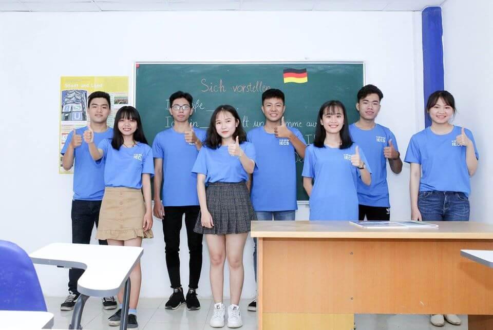 Học viên Khóa học tiếng Đức A1 tại tp HCM