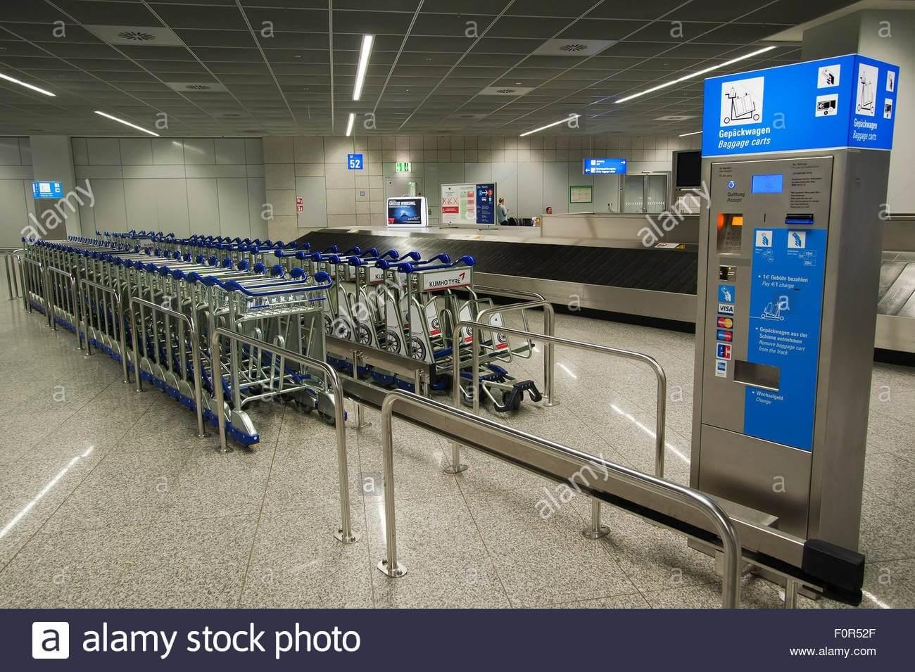 hành lý cần thiết khi đi du học Đức- Xe đẩy hành lý
