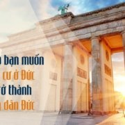 Lý do định cư ở Đức