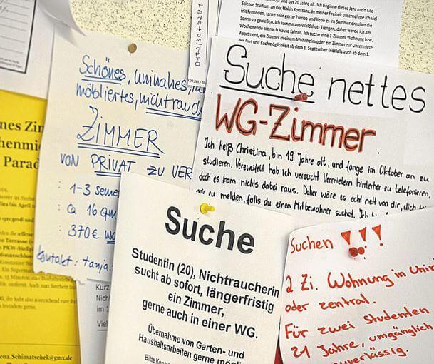 Tìm nhà ở cho du học sinh tại Đức -mẹo