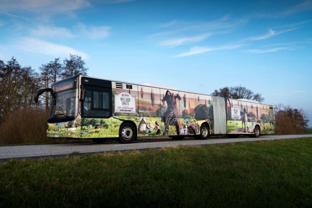 Tuyến xe bus chạy trong thành phố
