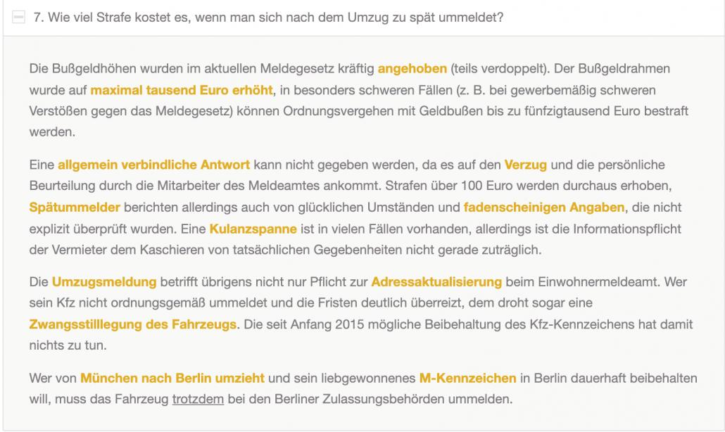 hướng dẫn đăng ký tạm trú tại Đức -Lệ phí đăng ký