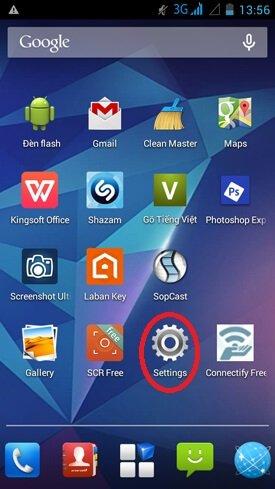 Cài đặt bàn phím trên hệ điều hành Android