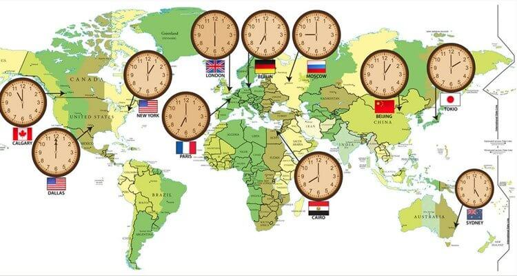 Chênh lệch múi giờ Đức và múi giờ ở Việt Nam