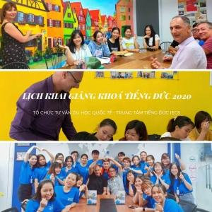 Lịch Khai Giảng Các khóa học tại IECS