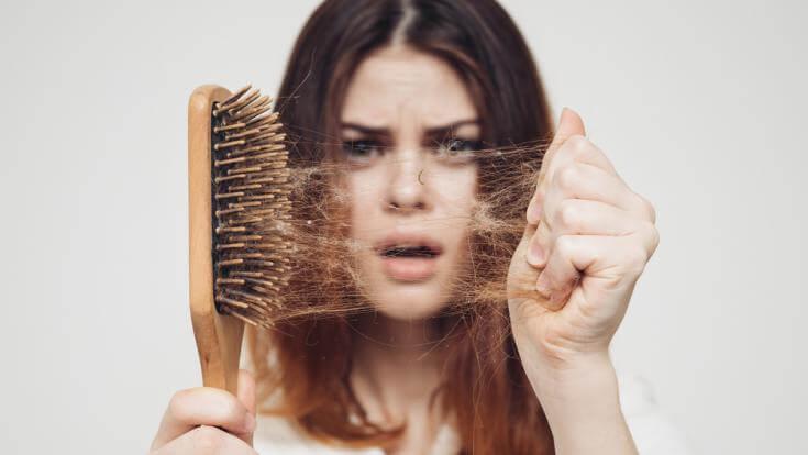 thay đổi môi trường sống - rụng tóc