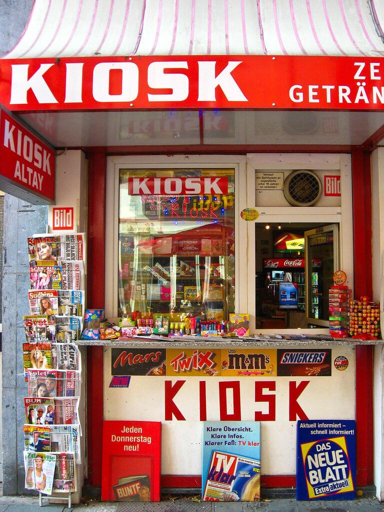 Mua sim điện thoại ở Kiosk Thổ