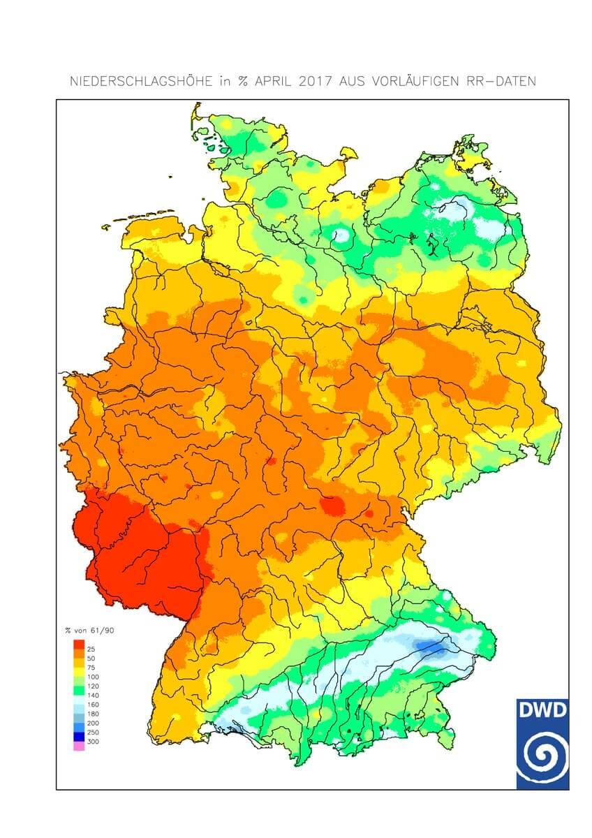 Khí hậu nước Đức