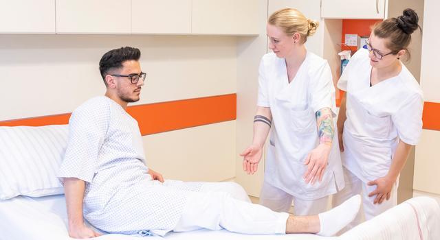 Điều dưỡng đa khoa - Krankenpflege