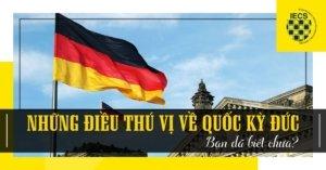 Những điều thú vị về quốc kỳ Đức