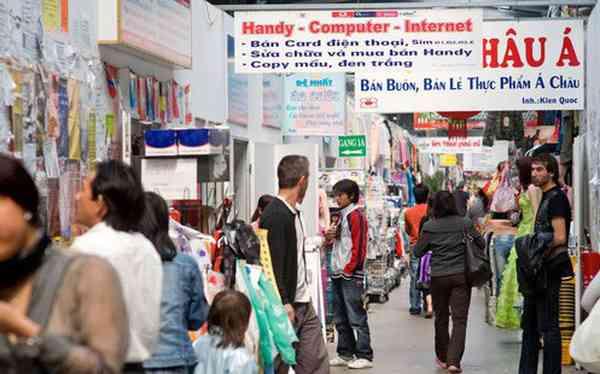 chợ Đồng Xuân tại Đức