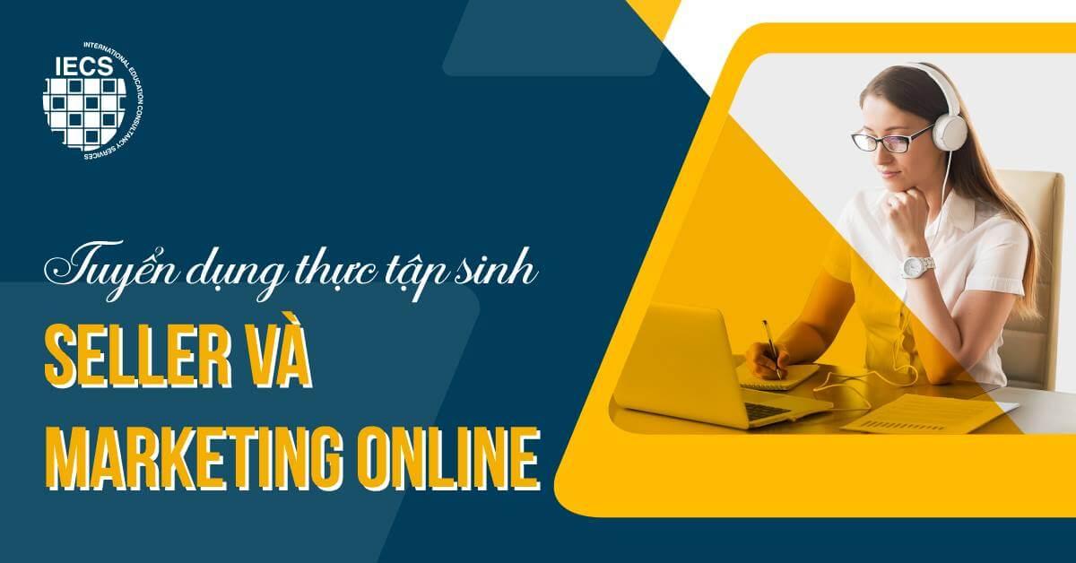 thực tập sinh seller và marketing online