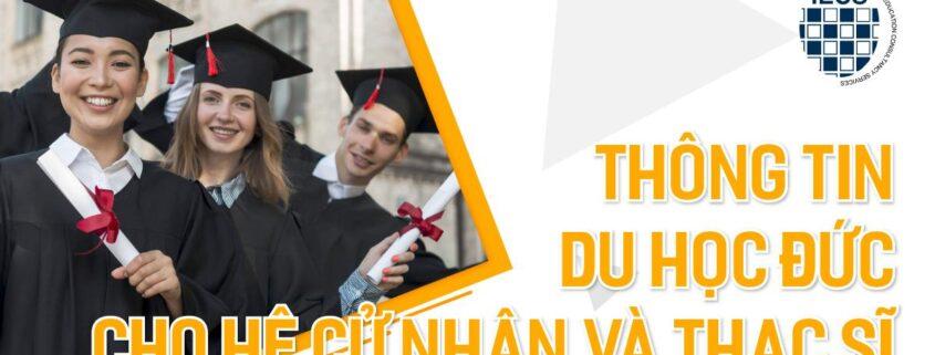 dụ học cử nhân và thạc sĩ tại Đức