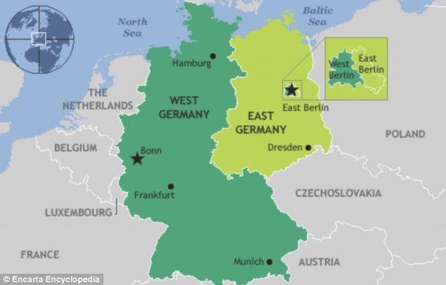 sự khác biệt giữa Đông Đức và Tây Đức (1)