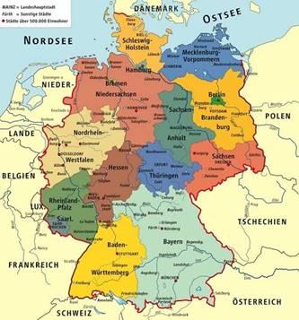 Bản đồ nước Đức (5)