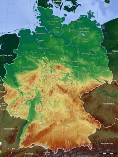 Bản đồ nước Đức (6)
