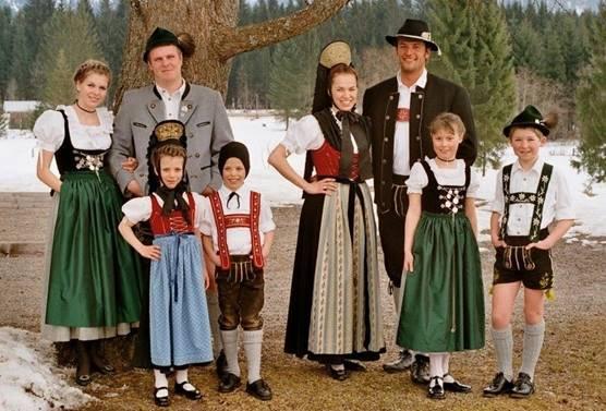 Trang phục truyền thống Đức (2)
