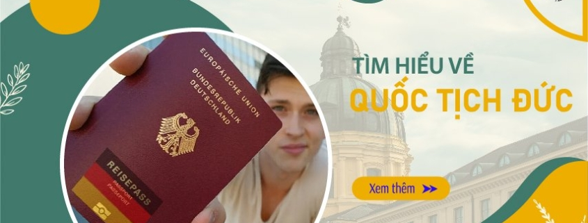 Tìm hiều về quốc tịch Đức