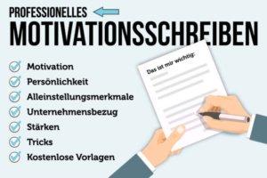 motivationsschreiben ausbildung