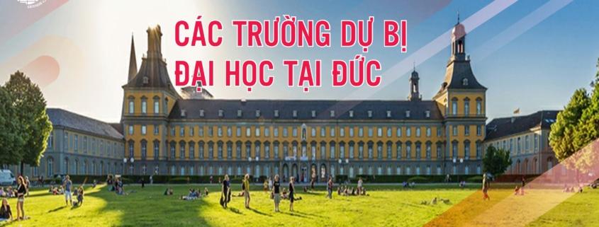 Các trường dự bị Đại Học ở Đức
