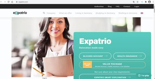 Cách mở tài khoản phong tỏa expatrio (3)