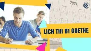 Lich thi B1 Goethe
