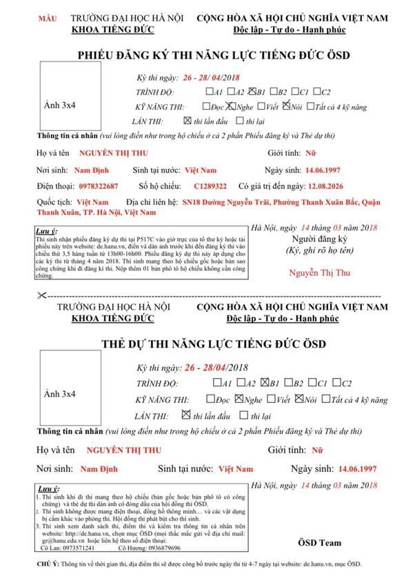 Lịch thi B1 Hanu (2)