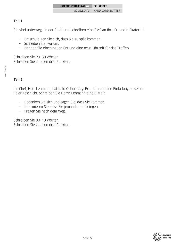 đề thi a2 tiếng đức_schreiben