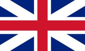 Cờ các nước châu Âu - Anh