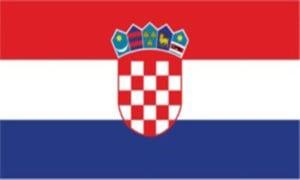 Cờ các nước châu Âu - Croatia