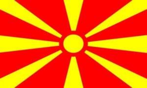 Cờ các nước châu Âu -Macedonia