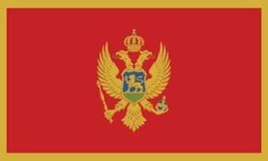 Cờ các nước châu Âu -Montenegro