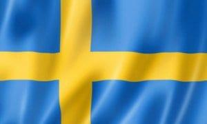 Cờ các nước châu Âu -Thuỵ Điển