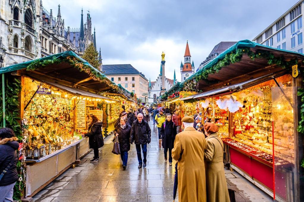 chợ giáng sinh ở Đức (1)